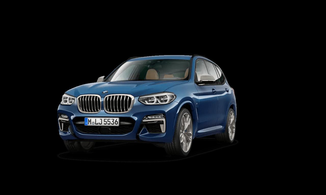 BMW X3 M40i.