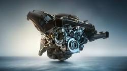 Бензиновый рядный 6-ти цилиндровый мотор BMW М TwinPower Turbo.