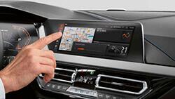 Управління жестами BMW.