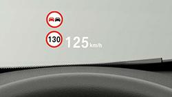 Повноколірний проекційний дисплей BMW.
