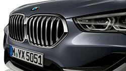 Оновлена решітка радіатора BMW.