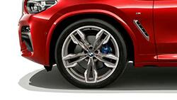 Широкие колесные арки BMW X4