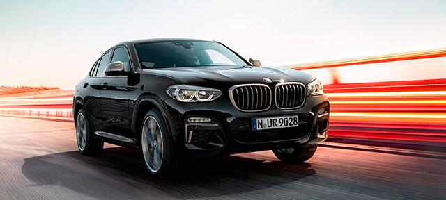 BMW X4 M40i, BMW X4 M40d.