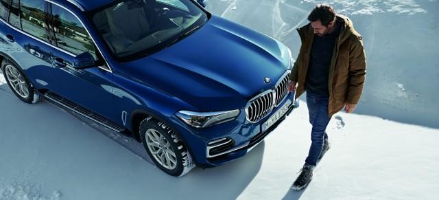 Комплекты оригинальных зимних колёс BMW