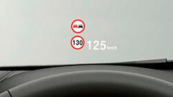 Полноцветный проекционный дисплей BMW.