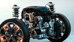 BMW TwinPower Turbo 4-цилиндровый бензиновый двигатель.