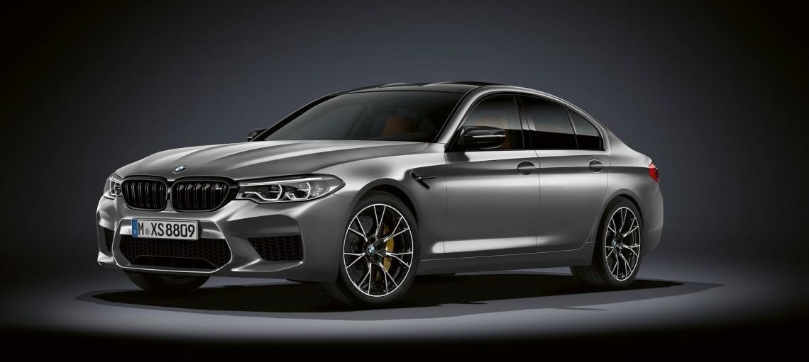 Новий BMW M5 Competition.
