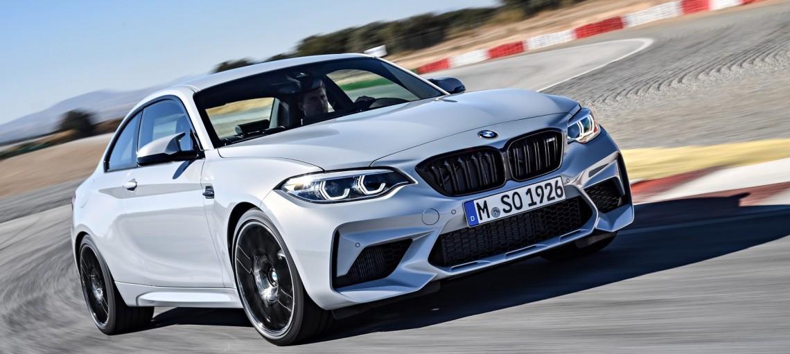 Новый BMW M2 Competition