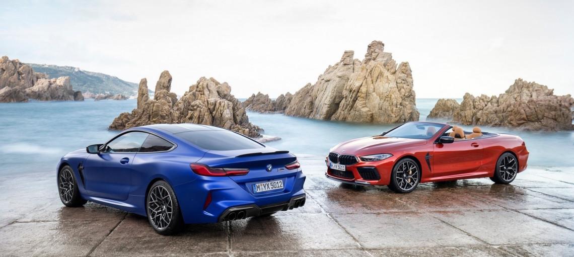 Нові BMW M8.
