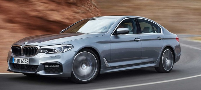 Новый BMW 5 СЕРИИ СЕДАН.