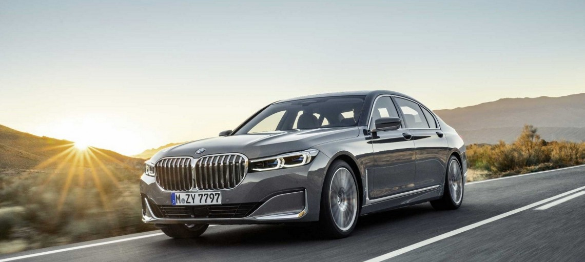 Новый BMW 7 серии.