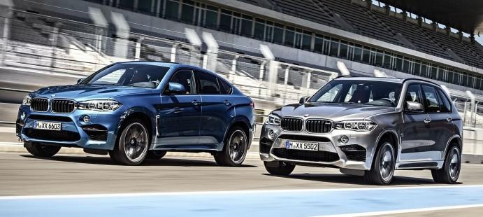 Демонстрация силы: новые BMW X5 M и BMW X6 M