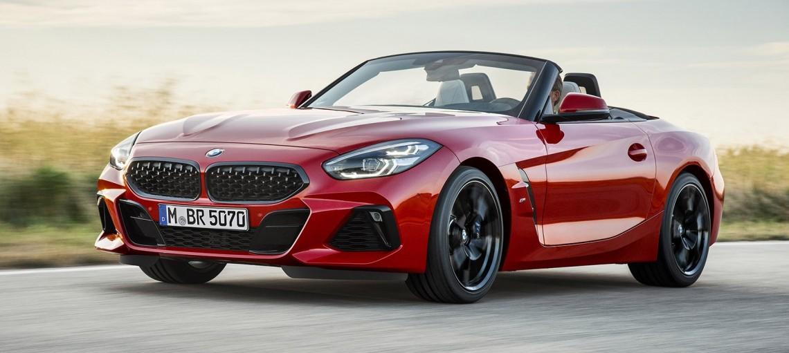 Перезагрузка: мировая премьера нового BMW Z4 в Пеббл-Бич