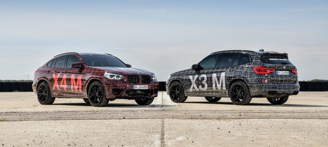 Прогріваюче коло: перша офіційна презентація BMW X3 M і BMW X4 M на Нюрбургринзі.