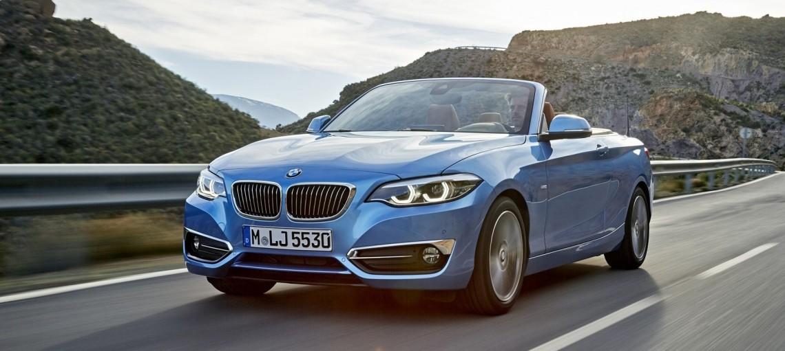 Новые BMW 2 серии Купе и Кабриолет.