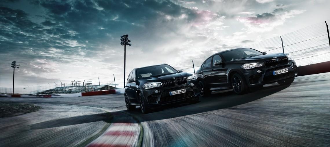 Особая серия: BMW X5 M и BMW X6 M в версии The Black Fire Edition.