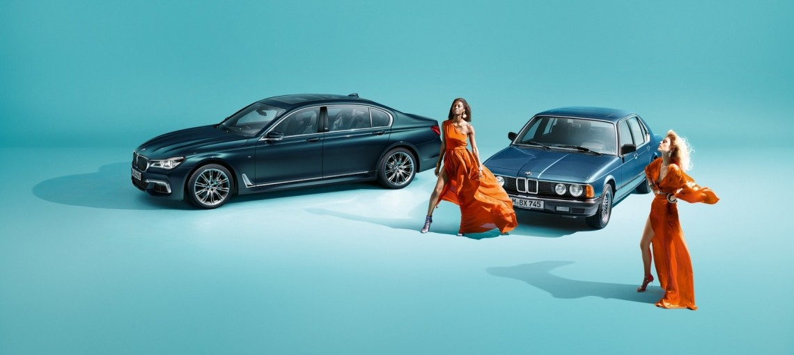 Спеціальна версія BMW 7 серії Edition 40 Jahre.
