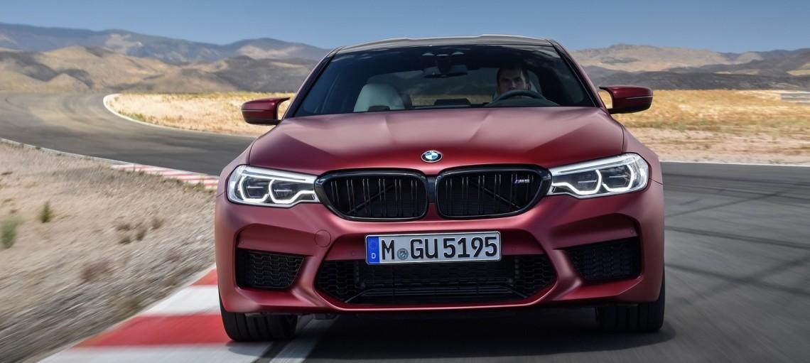 Полностью новый BMW M5