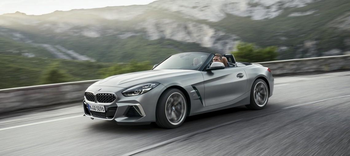 Новый BMW Z4.