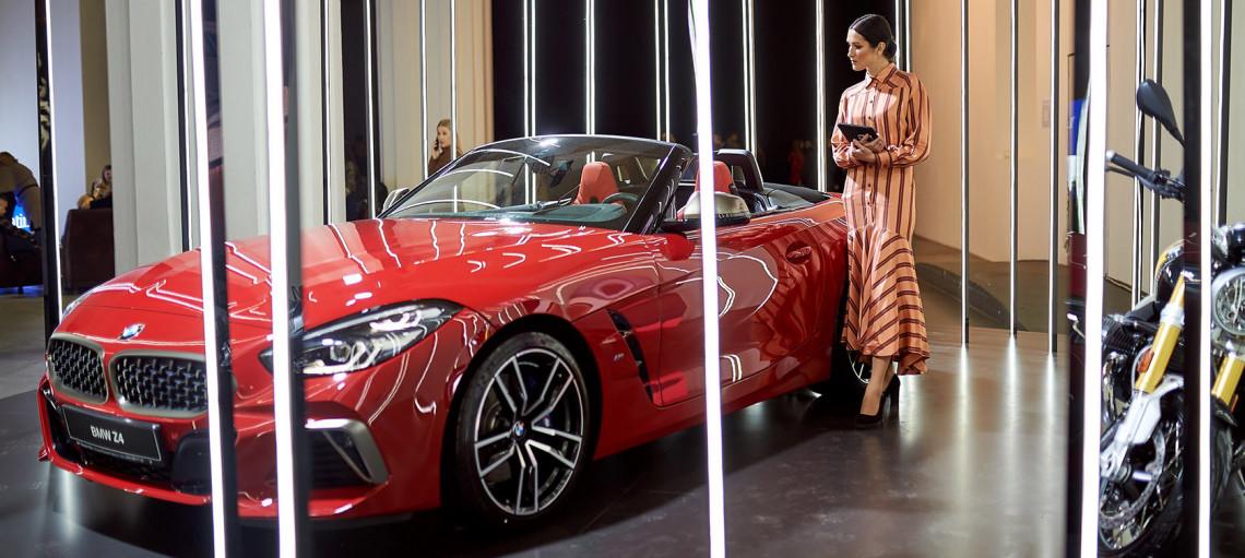 Чиста естетика нових форм. Образ для природженого індивідуала від бренду BMW в новому сезоні UFW